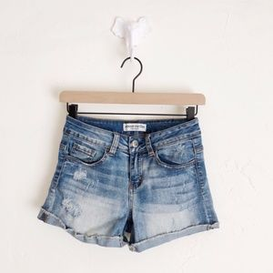✨3 for $18✨ Distressed Jean Shorts Size 1